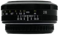 Voigtlander 28mm f/2.8 SL-II for Canon
