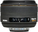 Sigma 30mm f/1.4 DC HSM for Nikon DX