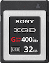 Sony 32GB XQD 400MB/s G Series Memory Card