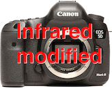 Canon EOS 5D Mark III IR Modified (715nm)