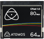 Atomos 64GB 80MB/s CFast 1.0 Card
