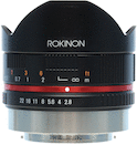 Rokinon 8mm f/2.8 UMC Fisheye