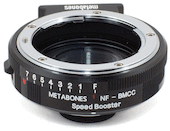 Metabones Nikon Lens to Blackmagic Cinema M4/3 Speed Booster