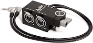 Wooden A-Box XLR Adapter for RED Scarlet / Epic