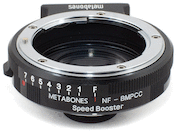 Metabones Nikon Lens to Blackmagic Pocket Cam Speed Booster