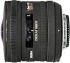 Sigma 4.5mm f/2.8 DC HSM Fisheye for Nikon DX