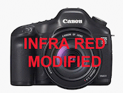 Canon 5D Mark II IR Modified (830nm)