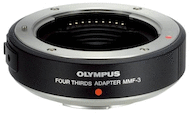 Micro 4/3 camera to standard 4/3 Lens (Olympus MMF-3)