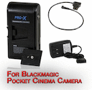 Switronix Powerbase-70 for Blackmagic Pocket Camera