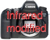 Canon EOS 6D IR Modified (715nm)