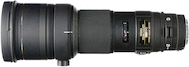 Sigma 500mm f/4.5 EX DG HSM for Canon