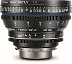 Zeiss Compact Prime CP.2 PL 85mm T1.5 Super Speed (PL)