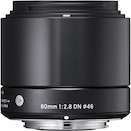 Sigma 60mm f/2.8 DN for Sony NEX