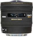 Sigma 4.5mm f/2.8 DC HSM Fisheye for Canon