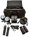 Dynalite 800w Two-Head Radio Studio Flash Kit