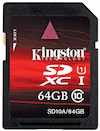 Kingston 64GB UHS-1 SDXC