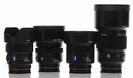 Best of Sony Zeiss Prime Lens Package