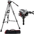 Manfrotto 504HD Head w/ 546B 2-Stage Aluminum Tripod System