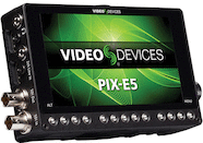 "Video Devices PIX-E5 5"" HDMI / SDI 4K Recorder"