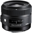Sigma 30mm f/1.4 DC HSM A1 for Nikon DX