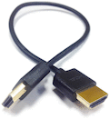 HDMI Male-Male 1ft. Ultra-Thin
