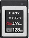 Sony 128GB XQD 400MB/s G Series Memory Card