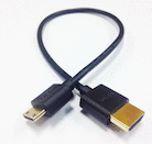 HDMI Male to Mini-HDMI 1ft. Ultra-Thin