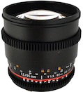 Rokinon 85mm T1.5 Cine for Sony NEX