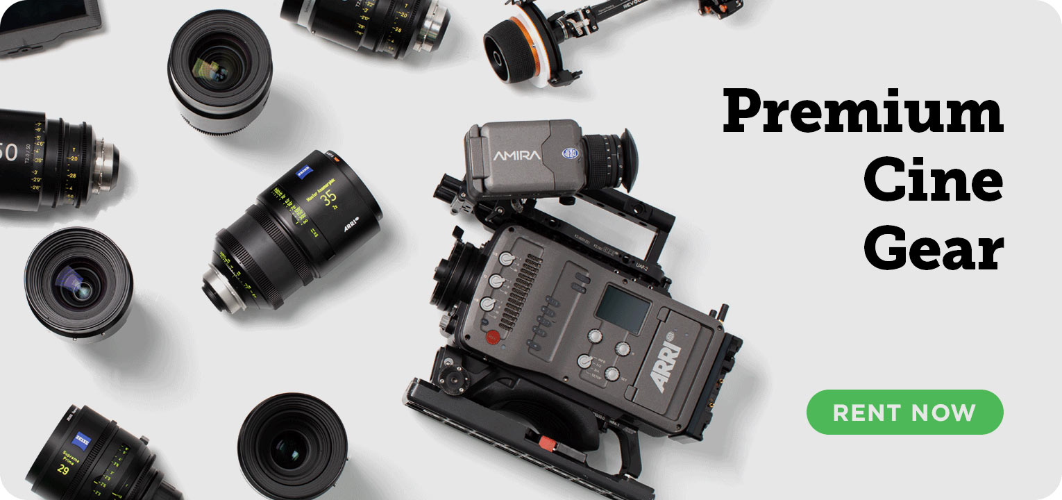 Premium cine gear: rent now