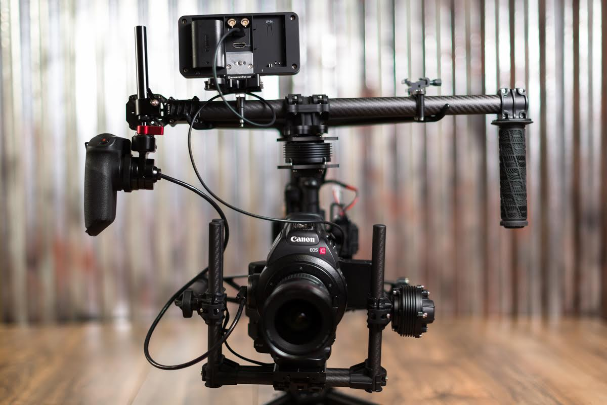 Lens Rentals Blog Hand Grip Handgrip With Counter Using The Zacuto Zgrip Relocator For C100 Movi M5