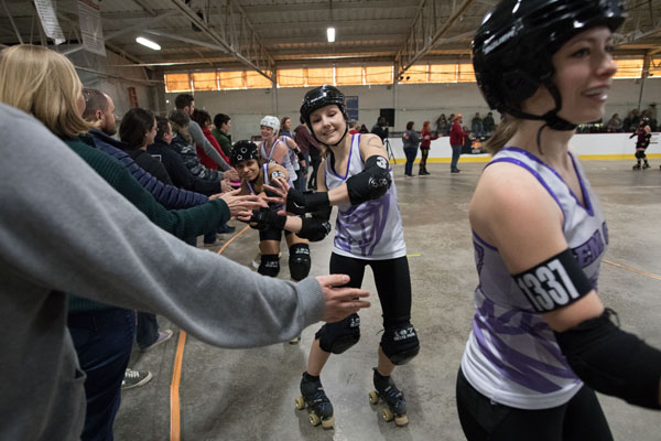 Congrats on the win, Gem City! Nikon D5, 20mm f/1.8G, 1/1000, f/3.5, ISO 12800