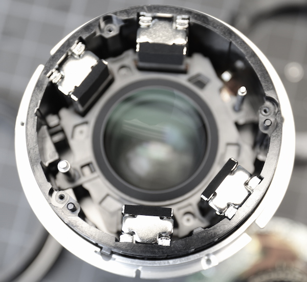 Fuji 90mm macro focusing assembly. Lensrentals.com, 2016