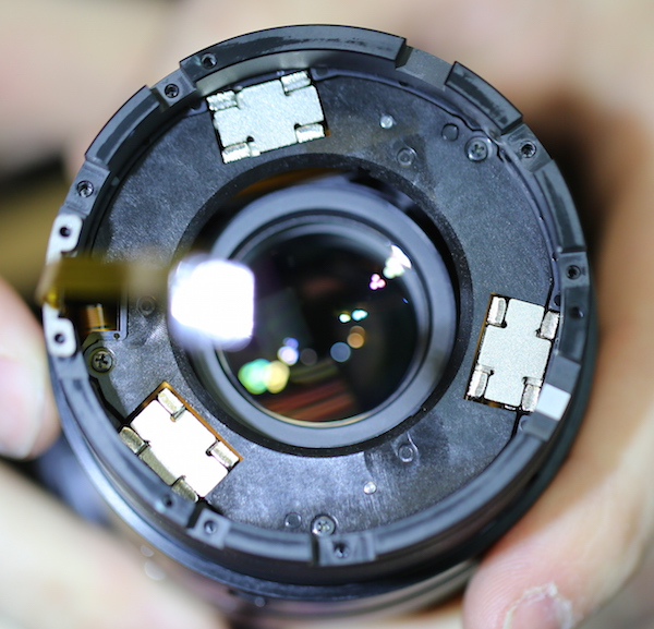 Fuji 50-140mm lens focusing assembly. Lensrentals.com, 2016