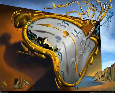 Persistance of Memory, Salvadore Dali