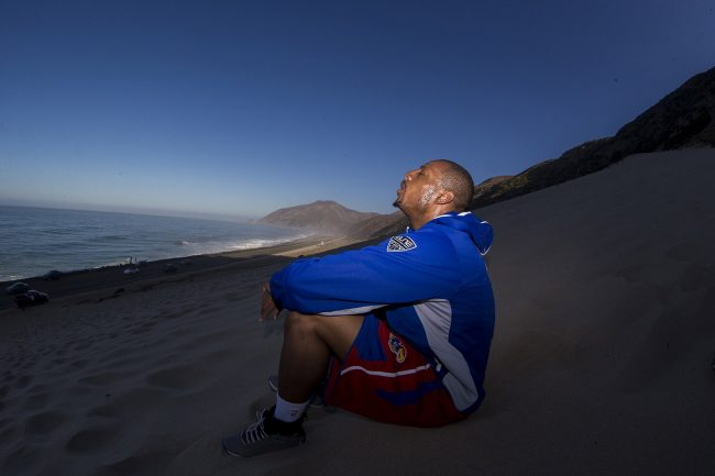 Paul Pierce of the Washington Wizards, on August 29, 2014, in Los Angeles, Ca. (Photo by Jed Jacobsohn/The Players Tribune)