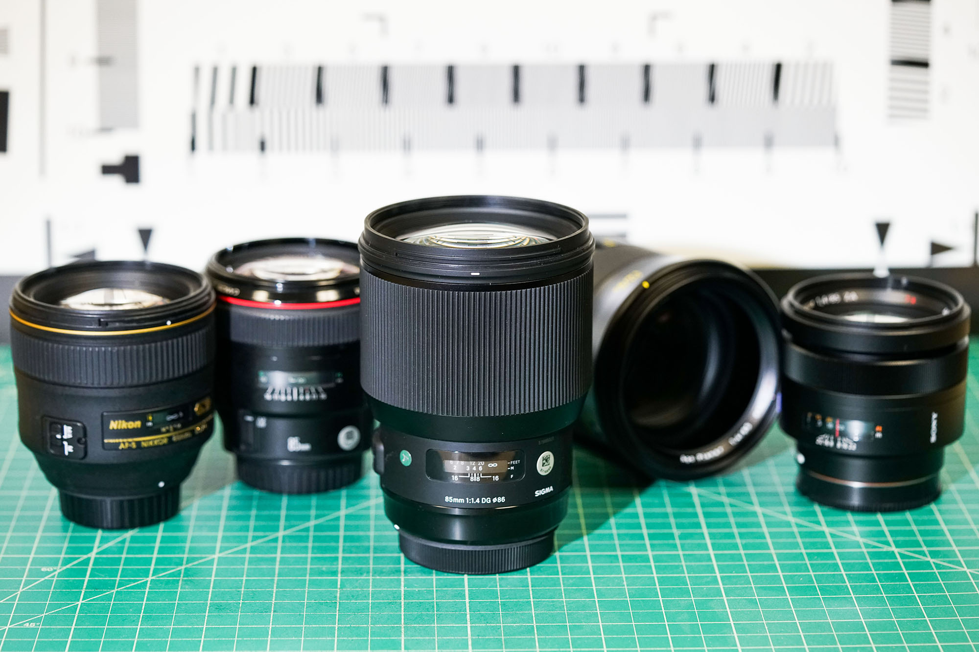 Lens Rentals Blog Sigma For Canon 50mm F 14 Dg Hsm Art Didnt Come From Sony Or Nikon But Rather Finally Answered So Many Peoples Request And Released The 85mm Series