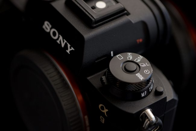Sony a9 Stacked Dial