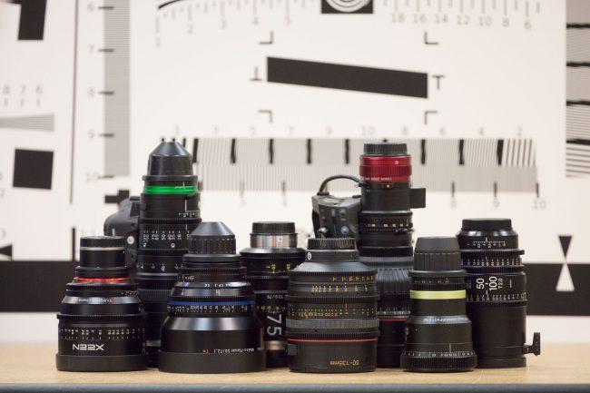 CineLens MTF Testing LensRentals
