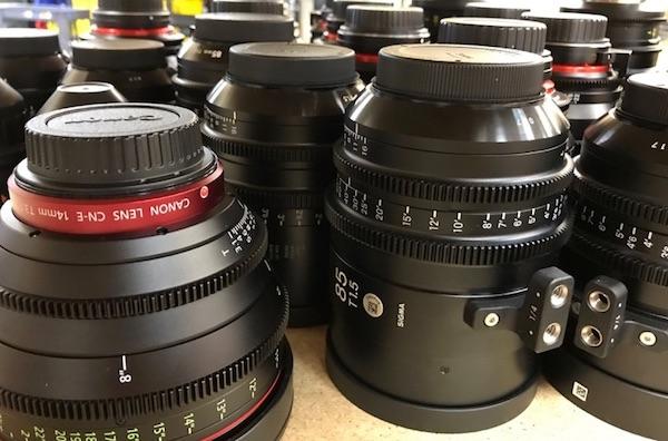 Cine Lens MTF Testing