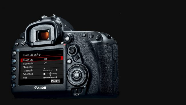 Canon 5D Mark IV C Log Upgrade