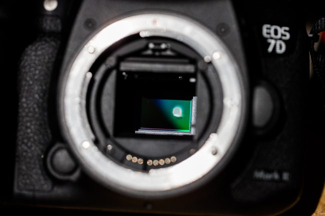 solar eclipse damaged camera system