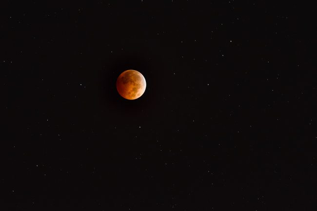 Lunar Eclipse Photo Example