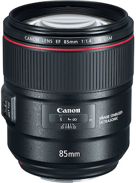 Rent the Canon 85mm f/1.4L IS