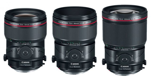 Rent Canon Tilt Shift Macro Lenses