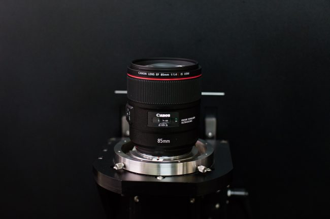 Canon 85mm f/1.4L IS MTF Testing