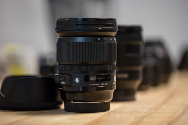 MTF Tests Sigma 24-105mm Art Series
