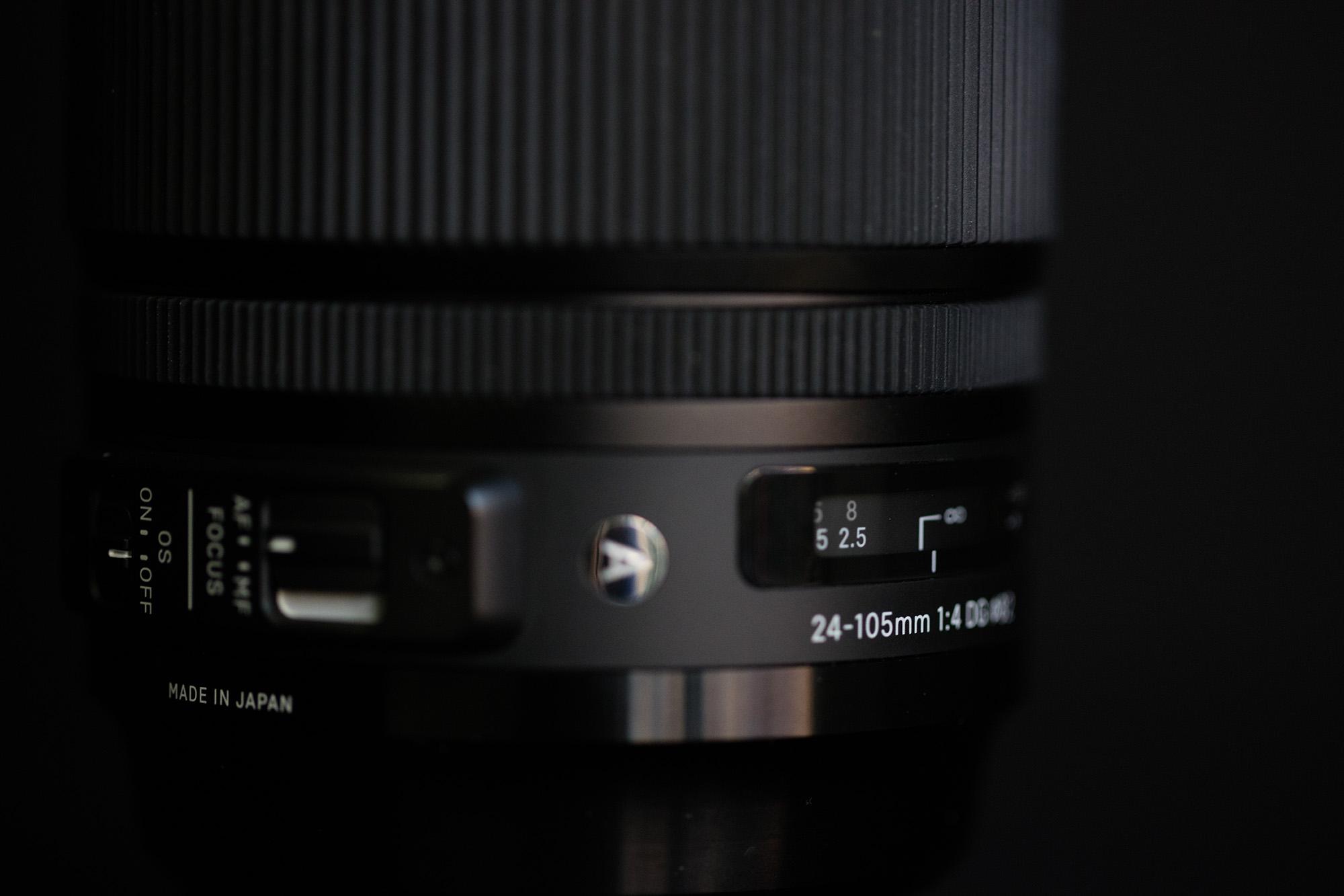 Sigma 24-105mm f/4 Art Series MTF Tests