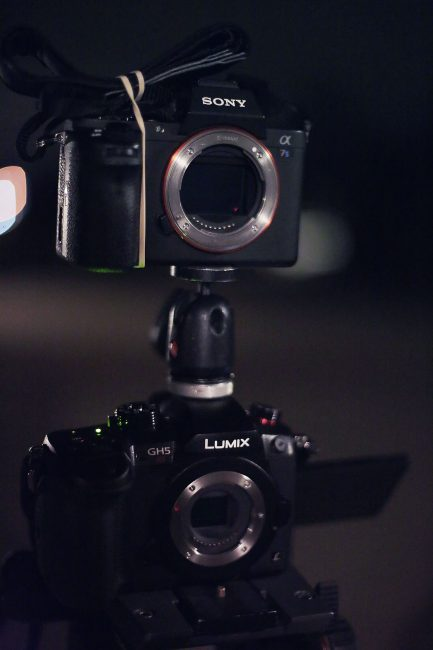 Low Light Comparison GH5s Sony a7sII