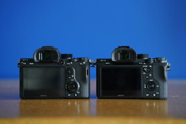 Sony a7rIII Comparison