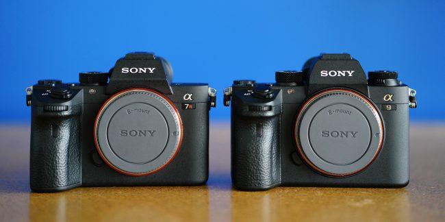 Sony a9 Comparison